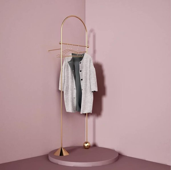 Landing coat hanger Nordic style decorative hanger Creative Geometric Modeling Shelves High-end decorative hangers in clothing stores