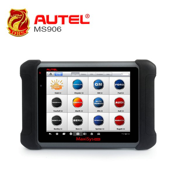 Autel Maxisys MS906 OBDII Diagnostic Tool Automotive Tools All System OBD2 Scanner Upgrade from DS708 DS808 Key programming Tool