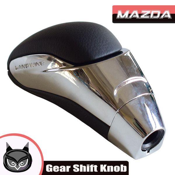 Automatic Gear Shift Knob Leather Handball for Mazda 3 5 6 8 CX-7