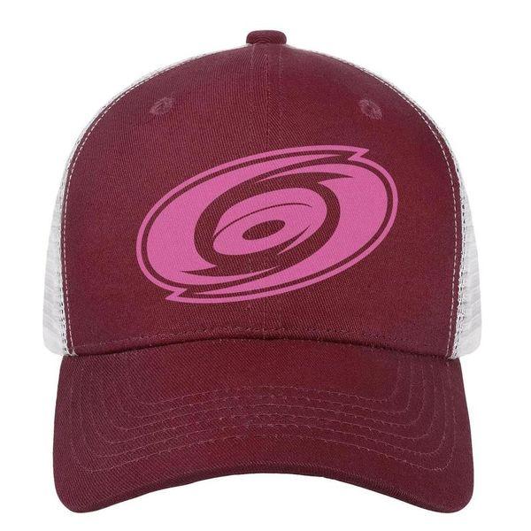 Carolina Hurricanes pink breast cancer mens guys Sport dad hat cotton adjustable womens dance cap youth Hip-hop cap mesh fishing hats