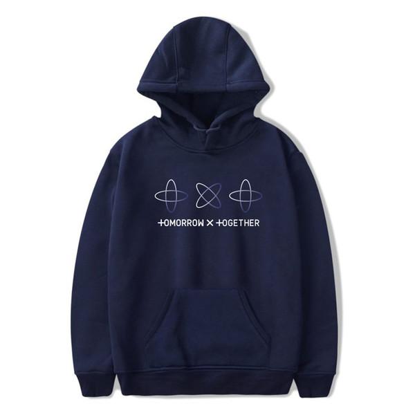 2019 2019 NEW Kpop Group TXT Hoodie TOMORROW X TOGETHER Hoodies Sweatshirts  Long Sleeve Spring/Autumn Hood Street Wear From Buttonline, $30 04 |