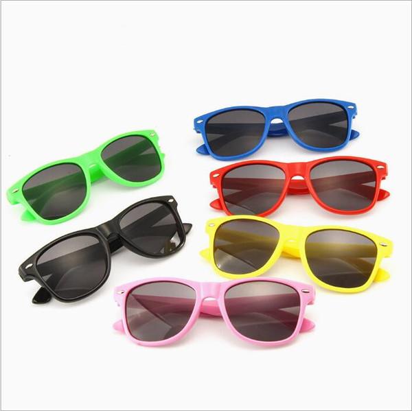 Kids Sunglasses Wayfarer Anti-uv Sunglasses Girls Designer Sun-Shading Eyeglasses Boy Sunglass Outdoor Travel Accessories Glasses Toys B4230