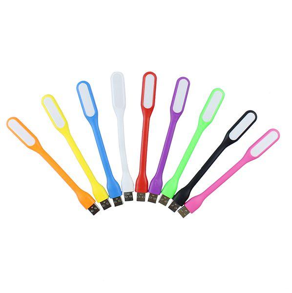 2018 Christmas promotion fashion Ultra Bright Flexible USB LED Lamp portable USB LED light For Power bank Computer Led Lamp hot sale