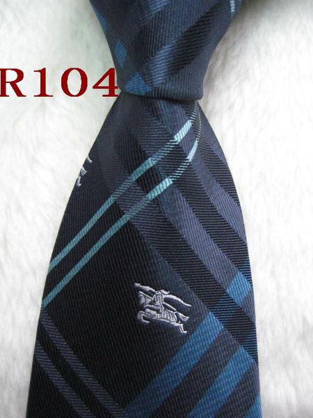 Classique 100% TISSÉ JACQUARD Perfect Design Mens HANDMADE noir / couleur multi style hommes cravate en soie cravate # R104