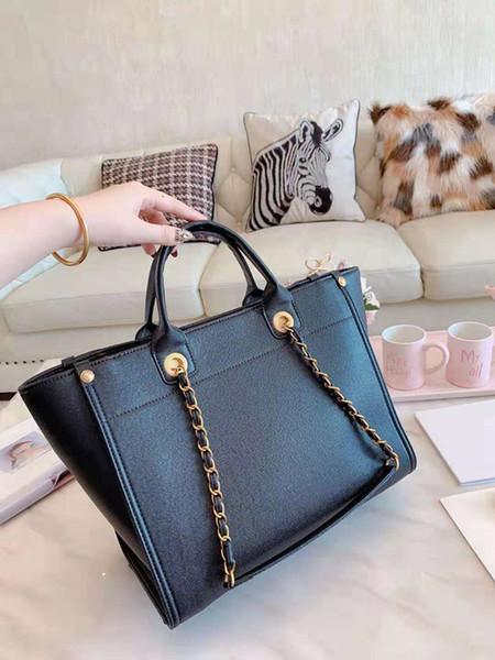 WomenDesigner Lüks Çantalar Alışveriş torbaları için Kum Omuz Zincir Çanta Cüzdanlar Çanta Of Tam Cilt Alışveriş Moda Deri Çanta Bayanlar