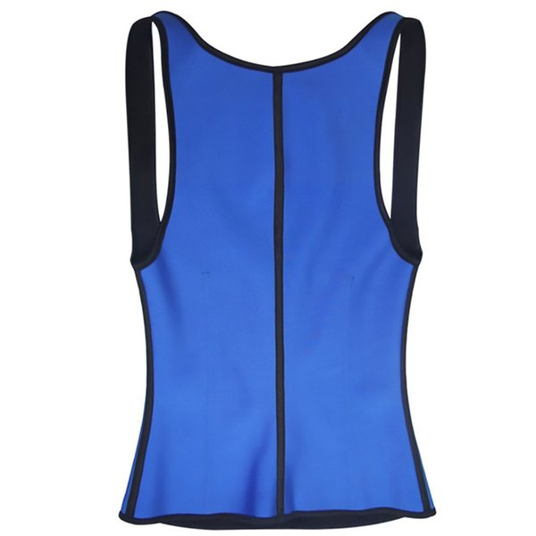 U Vest Vêtements Sculpting gros-Buckle Sport Fat Burning Sweat caoutchouc chloroprène Gilet Ceinture en néoprène Slim Body Hot Body Shaper