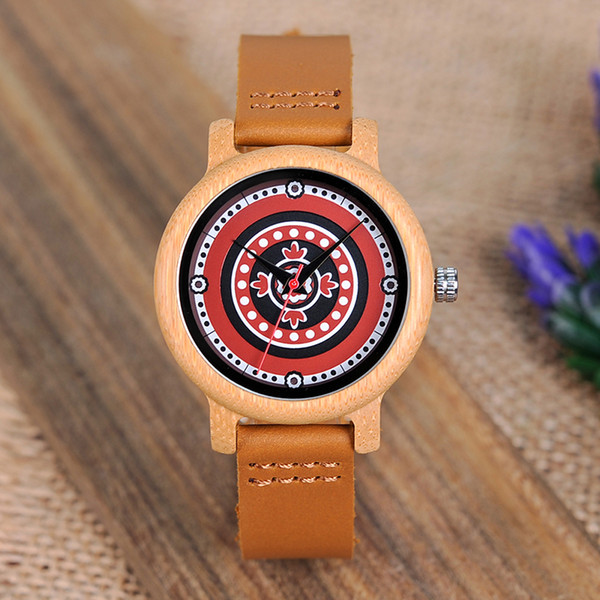 Bobo Bird Brand Women Bamboo Watches Ladies Quartz Wristwatches Female Clock Lady Quartz Watch Relogio Feminino C-aj19 J190507