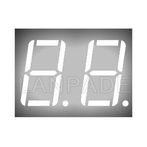 LED 7-Segment 0.56 inç 2 Haneli CA Beyaz Ekran DHL Ücretsiz Kargo