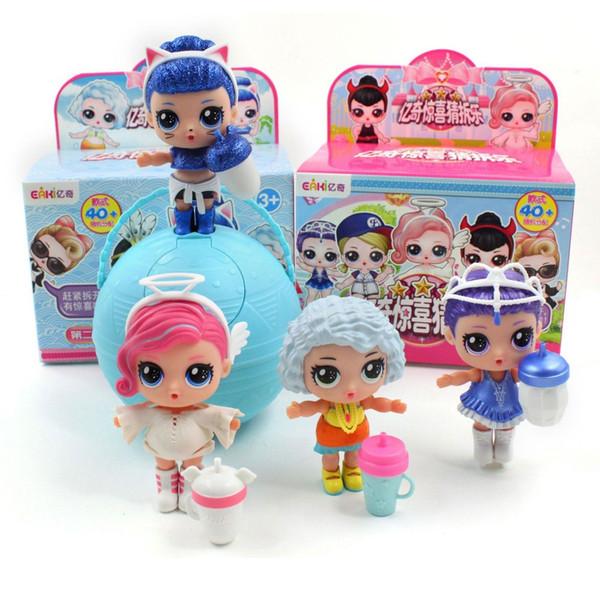 LOL Новый Eaki Оригинал Сформировать Ii сюрприз кукла LoL Дети Пазлы игрушки Детские игрушки Смешные Diy принцессы куклы Оригинальный Box Мульти Модели