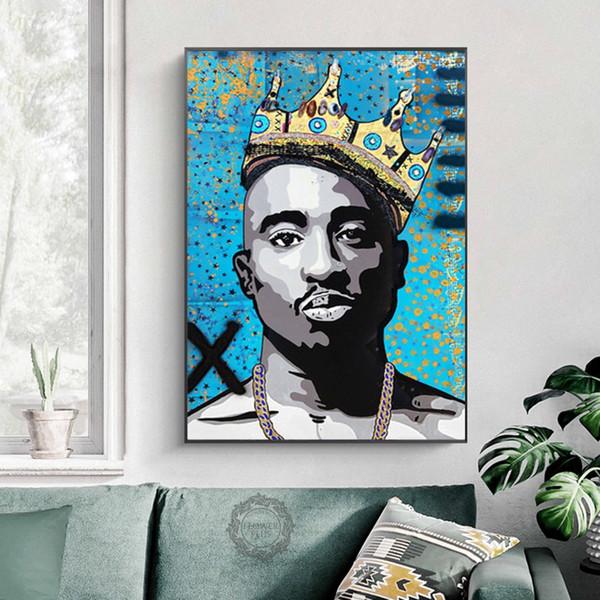"Notorious B.I.G Biggie Smalls Tupac Shakur Hip Hop Art Poster 13×20 27×40 32×48/"""