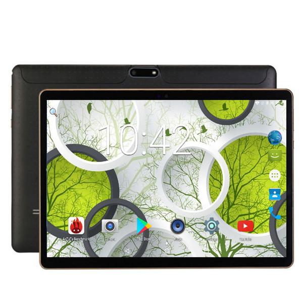 Frete grátis Android Tablet 10 polegada Desbloquear 4G 3G Chamada Do Telefone cartão SIM Android 7.0 Octa Núcleo CE WiFi FM 32 GB 1280 * 800 Tablet Pc