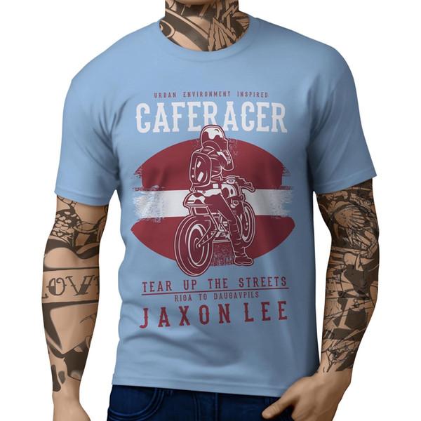 JL Rasgar as Ruas Latvia - T-shirt Engraçado frete grátis Unisex Casual Tshirt top