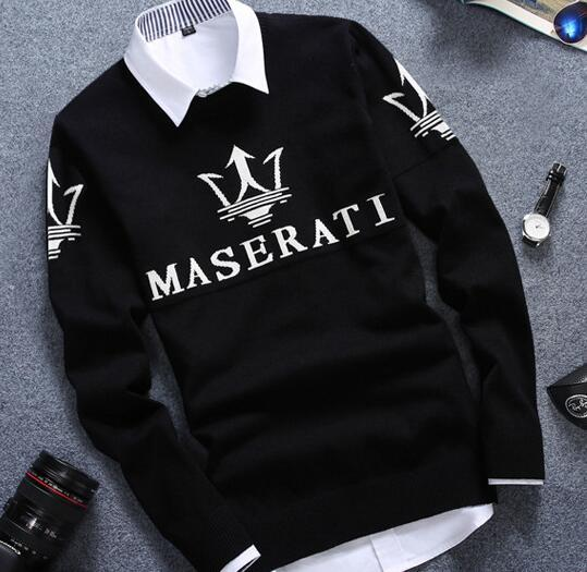 YP1002M 2017 autumn winter Hot selling fashionable causal nice warm pullove christmas sweater men Cheap wholesale brand clothing