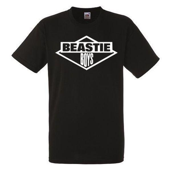 Beastie Boys Logo Black New T-shirt Rock Band Shirt Heavy Metal Tee Men Women Unisex Fashion tshirt Free Shipping