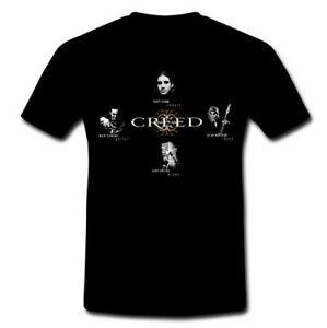 CREED Post Grunge roMen bant Delik Tasarım BlaMen T gömlek Tee S M L