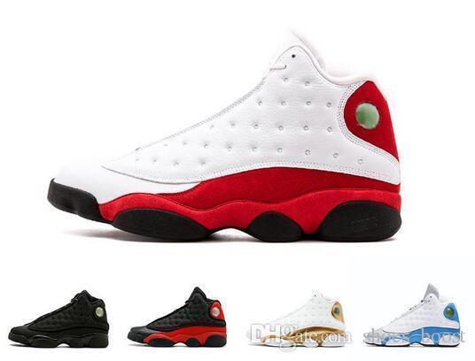 Wholesale New 13 13s Mens Basketball Shoes 3m Gs Hyper Royal Italy Blue Bordeaux Flints Chicago Bred Dmp Wheat Black Cat Sports Sneakers