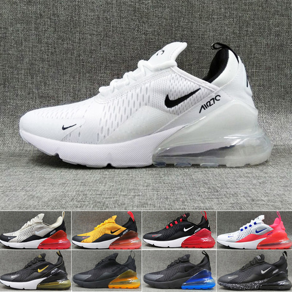 Nike| Air Max Mesh Hommes Chaussures de course In Blanc Noir