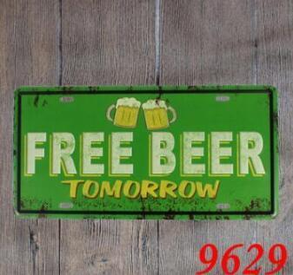 Las Vegas Metal Poster Wall Decor Bar Home Vintage Craft Gift Art 20x30cm Iron painting Tin Poster Mixed designs