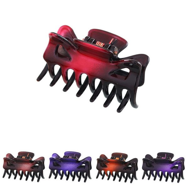 best selling Plastic Hair Claws Clips Girls Hairpins Crab Claws Jaw Clamp Hair Jewelry for Women