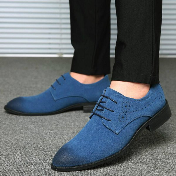 Men summer male dress flats man formal lace up brogue shoes mens business driving zapatos de hombres personlizar zapatos C01513