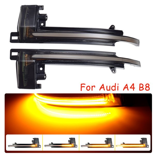 best selling Turn Signal Blinker For Audi A4 A5 B8.5 B8 RS5 RS3 A3 8P S5 RS4 A6 Q3 A8 8K Mirror Flasher Light