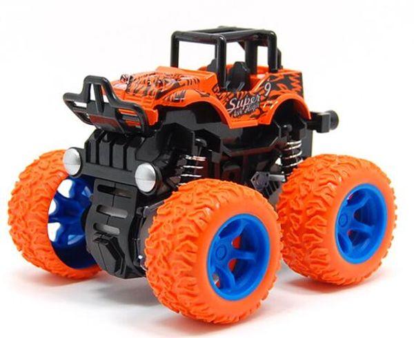 Hot New Children's inertia four-wheel drive off-road vehicle shockproof shock absorber boy simulation toy stunt swing bigfoot car model