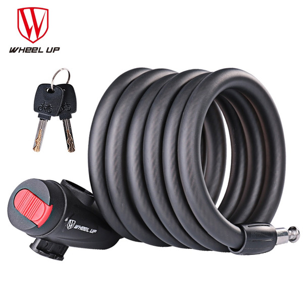 Antifurto Bike Lock Accessori per biciclette Filo di sicurezza per cavi di sicurezza per biciclette MTB Road Bike Locks per sicurezza # 107621