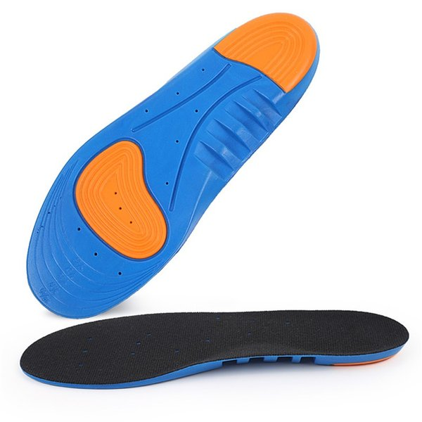 1018 Shock Absorption Running Insoles Sport Arch Support Insoles for Shoes Inserts Cushion Foot Pad Massage Insole