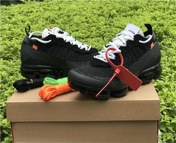 2018 Satış Buharları Fly 2.0 II Örgü FK 2.0 Erkek Ayakkabı Kapalı Batı VPM Tasarımcı Eğlence Ayakkabı Siyah Beyaz Rahat Nefes Sneakers Boyutu