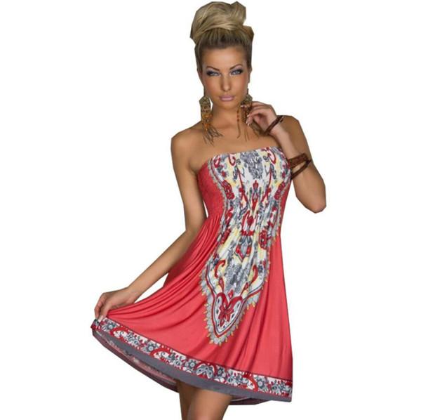 Moda yeni Kadın kadın giyim Wrap göğüs Bel koleksiyonu Orta etek Süt iplik Buz ipek Elbise toptan Günlük Elbiseler çin'de yapmak