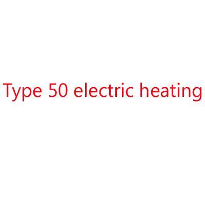 50 Type de chauffage électrique