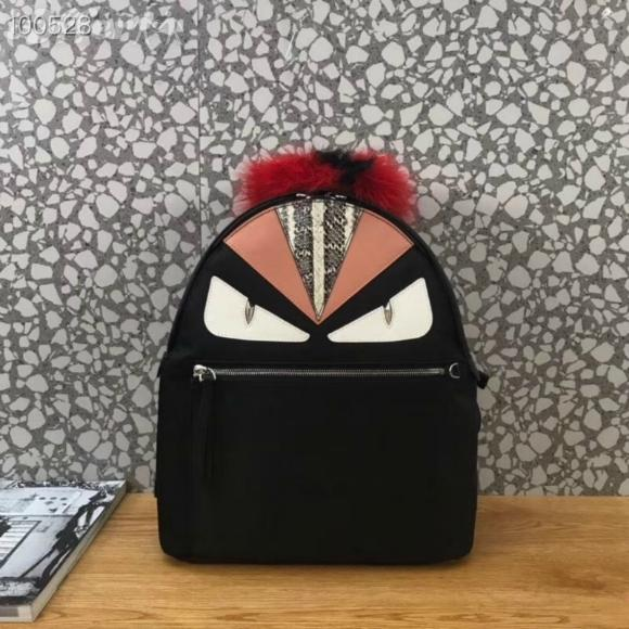 women men fur hair backpack satchel purse shoulder bag BACKPACK LUGGAGE SATCHEL BAG Backpack Duffle Bags Lifestyle