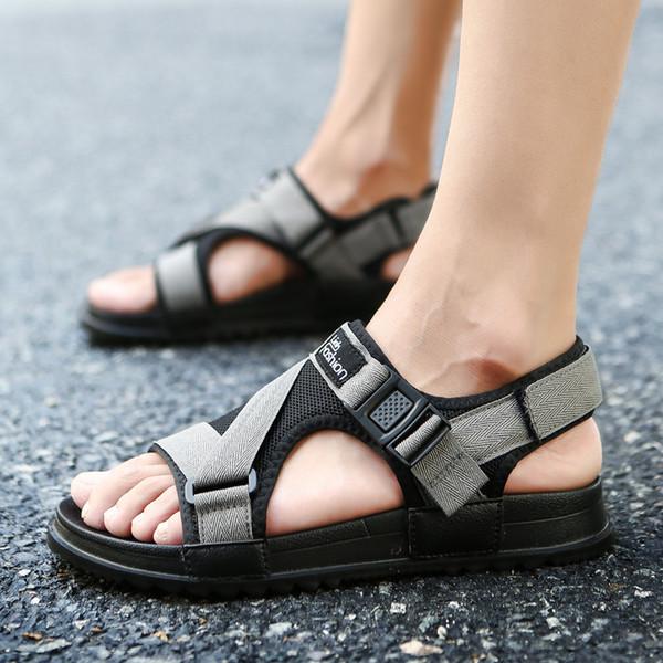 best selling Sandals Men shoes Summer 2019 Beach Gladiator Fashion Men's Outdoor