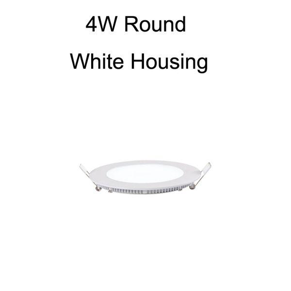 4W الأبيض جولة الإسكان