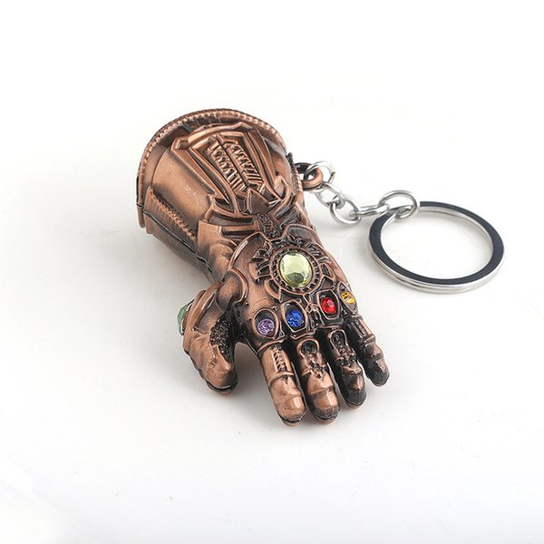 Avengers: Endgame Chapter Weiman Infinite War Peripheral Hanging Gloves Keychain souvenir new movie gift for kids funk pop