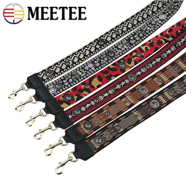 Tracolla larga nappa tracolla tracolla bambini tracolla retrò decorazione in metallo nastro cinghie accessori moda borsa parte
