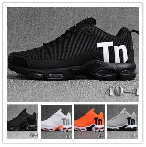 Mercurial TN Hommes Designer Chaussures De Course 2019 Hommes Casual Air Coussin Robe De Trainers En Plein Air Meilleure Randonnée Jogging Sport Baskets US 7-12
