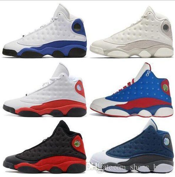 13s 13 Mens Basketball Shoes Phantom Chicago Gs Hyper Royal Black Cat Flints Bred Brown Olive Wheat Dmp Ivory Grey Men Sports Sneakers Women