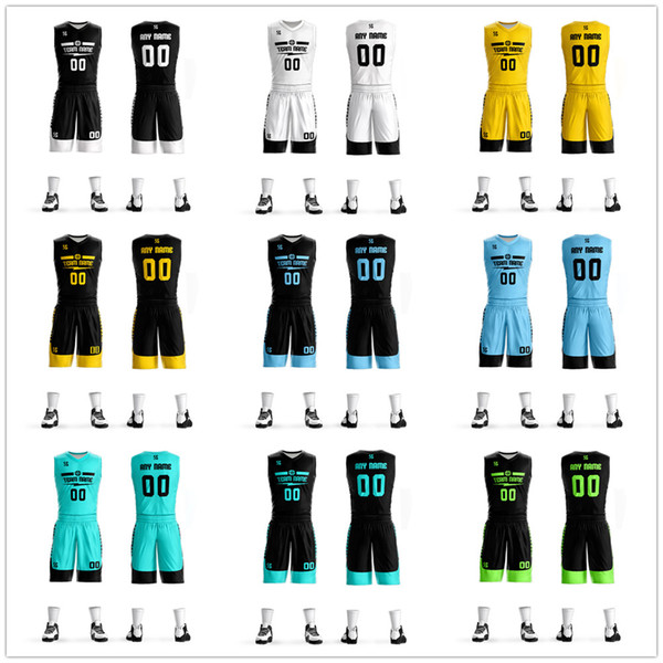 Custom Men/Women Kids basketball jerseys Cheap blank college basketball uniforms Youth Basketball set suits dry quick breathable