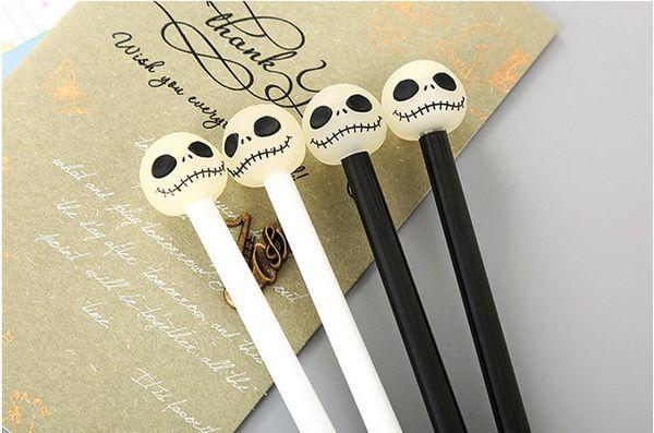 Penne gel più vendute Cancelleria creativa Testa siliconica Cartone animato Penne neutre Penne a firma acquerelli belle 443
