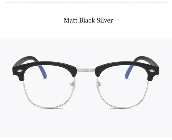Matt Black Silver