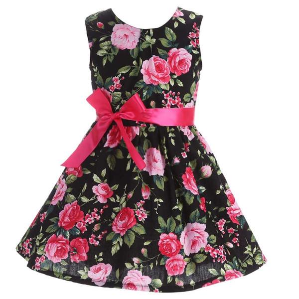 Newborn Baby Girl Clothes Summer 2017 Children Baby Girl Dress Beach;Cute Wedding Kids Dresses for Girls Cotton Vestido