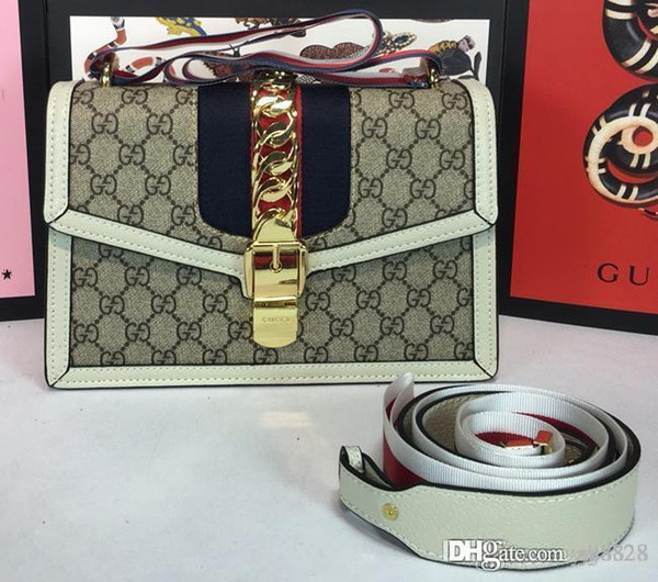 Classic Le Boy Flap bag women's Plaid Chain bag Ladies luxury 2018High Quality Handbag Fashion designer purse Shoulder Messenger bags
