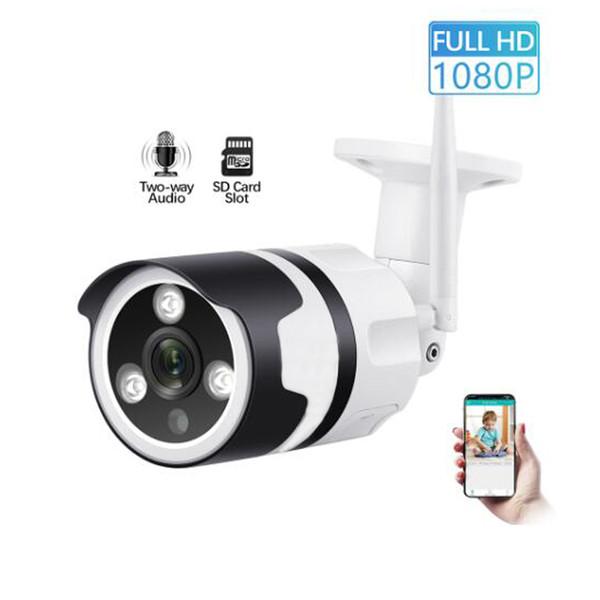 Stockage en nuage Caméra IP sans fil 1080p HD WIFI étanche extérieur Caméra P2P Alarme Onvif CCTV caméra de surveillance