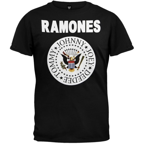 """Ramones - Full Color Seal ALICE IN CHAINS """"TRI CELL"""" BLACK T-SHIRT NEW OFFICIAL ADULT Men Women Unisex Fashion tshirt Free Shipping"""