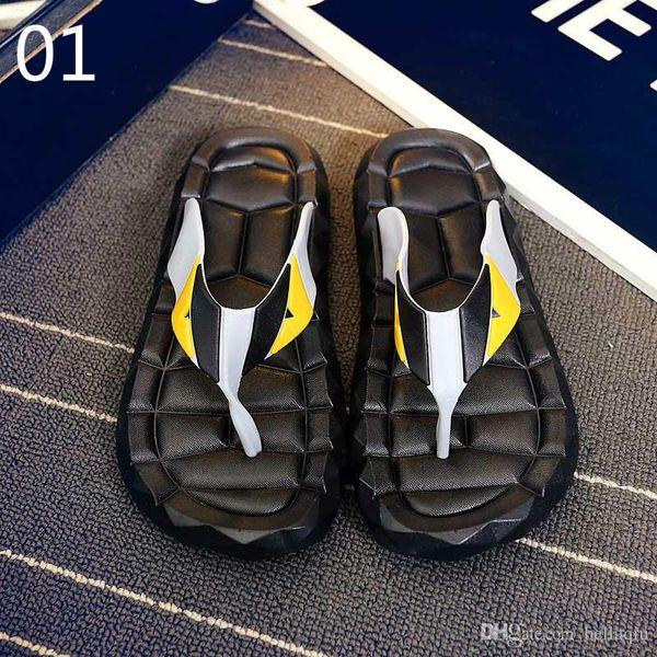 free shipping Flip Flops Men Sandals Shoes For Casual Walking Beach Slides EVA Massage Slippers Designer Flats Male Summer Mens Shoes 3A 89