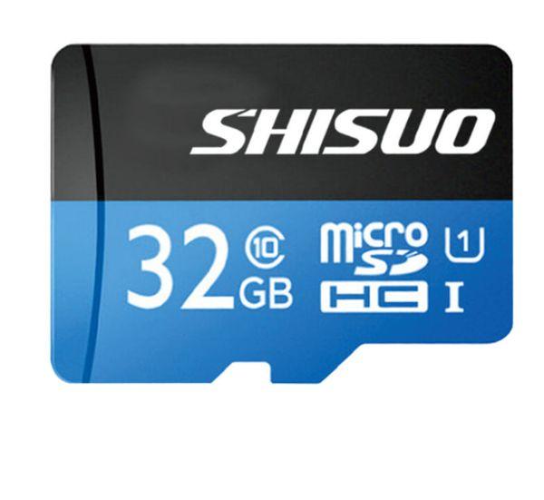 Echte Kapazität Klasse 10 100% Echte 8 GB 16 GB 32 GB Micro SD-Karte volle Kapazität Speicher TF-Karte 8 GB Kein Adapter für Handy MP3 / 4/5 Tablet PC
