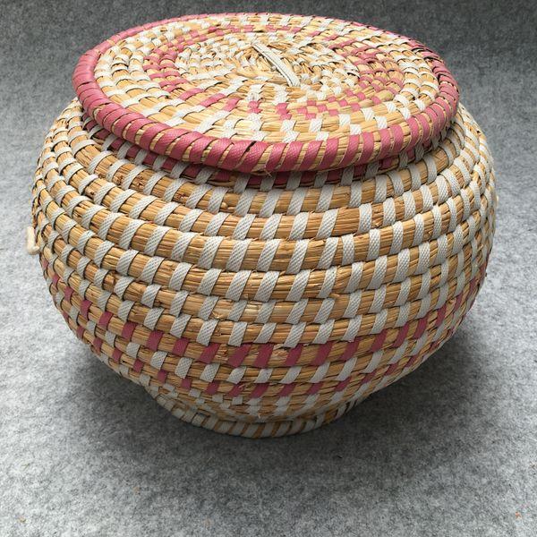 ECO-friendly Storage Basket Waterproof Cotton Linen For Snacks baby Toys Organization Storage Bins Housekeeping