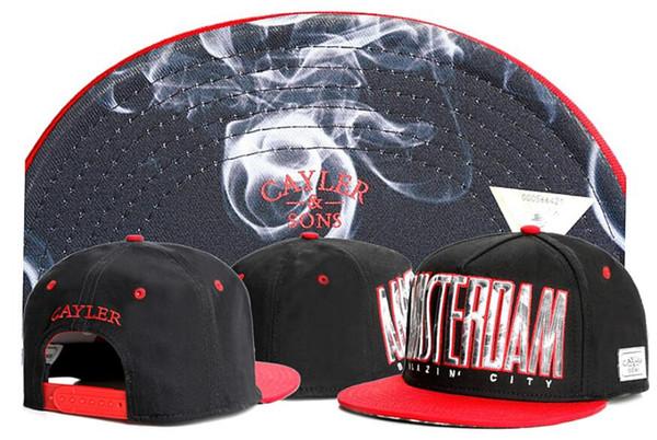 2019 New retail Fashion CAYLER & SONS Snapback Cap Hip-hop Men Women Snapbacks Hats Baseball Sports Cap,CAYLER SONs smoke Cap
