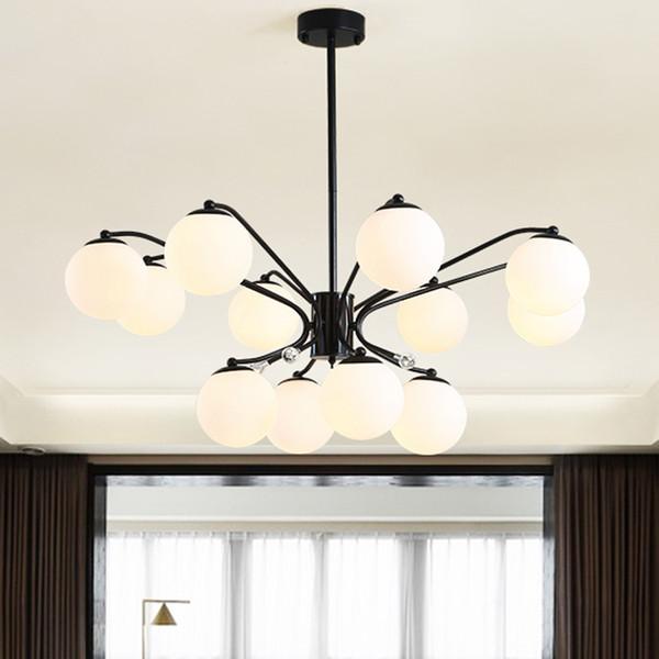 LED Chandelier Lighting Contemporary Creative Art Design Home Decoration Indoor Lighting Fixtures for Living Room Hanging Lamps - I107